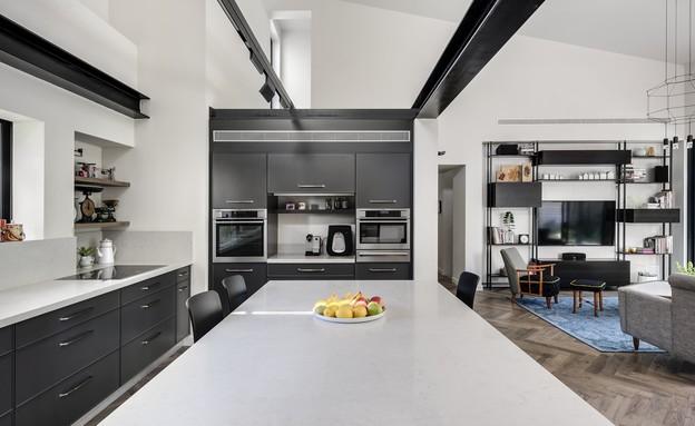 בית בשרון, עיצוב אירה שריג, מטבח (צילום: עודד סמדר)