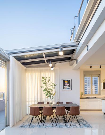 דירה בגבעתיים, ג, עיצוב סטודיו LOROS TLV, פינת אוכל (צילום: יואב פלד Peled Studios)