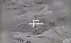 יירוט המלט האיראני (צילום: חדשות 2)