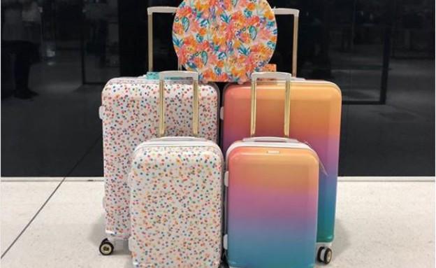 מזוודות CALPAK (צילום: אינסטגרם nordstromchi, מתוך instagram)