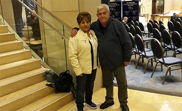 מאיר ואשתו רחאנה (צילום: באדיבות המשפחה)
