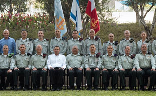 """רוב חברי המטה הכללי (צילום: דובר צה""""ל)"""