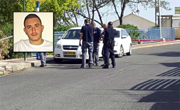 """זירת הרצח של יובל אוסדון ז""""ל (צילום: ניב פייס)"""