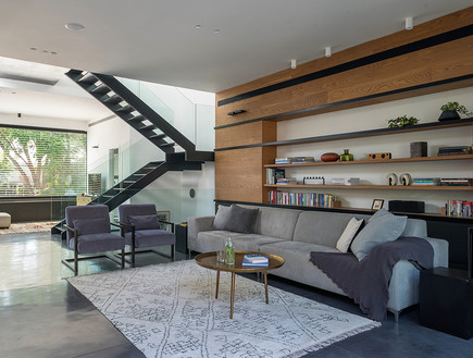 בית ברמת השרון, עיצוב עילית גרינברג, סלון - 5