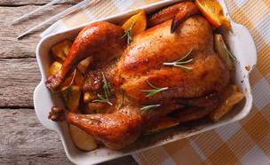 עוף צלוי (צילום: Shutterstock)