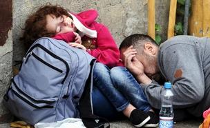 מבקשי מקלט בכניסה לאירופה, ארכיון (צילום: רויטרס)