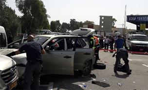 """שוטר מג""""ב ושני חיילים נפצעו"""