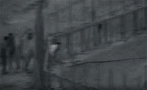 """נסיון לחצות את הגדר (ארכיון) (צילום: דובר צה""""ל)"""