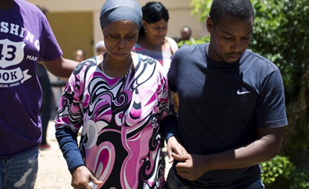 משפחתו של אברה מנגיסטו, ארכיון (צילום: רויטרס)