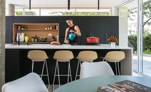 בית בתל אביב, סטודיו דולו, מטבח (15) (צילום: עוזי פורת)