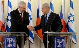 ראש הממשלה ונשיא צ'כיה (ארכיון) (צילום: Kobi Gideon/GPO/FLASH90)