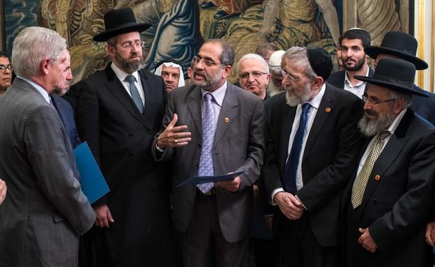 היוזמה הדתית לשלום (צילום: מחלקת המדיה של משרד החוץ הספרדי)