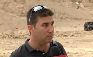 """קב""""ט המועצה האזורית ערבה תיכונה (צילום: חדשות 2)"""