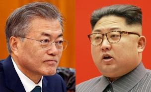 קים ג'ונג-און ומון ג'יאה-אין (צילום: רויטרס)