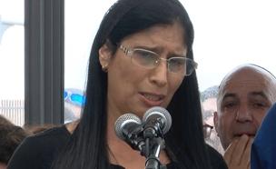 שרית אור, אמא של אלה אור שנהרגה באסון השיטפון (צילום: חדשות 2)