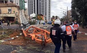 """נמצא הפתרון לתאונות בענף הבנייה? (צילום: תיעוד מבצעי מד""""א)"""