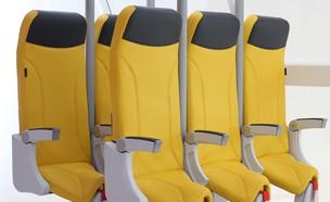 כסא עמידה בטיסה (צילום: Aviointeriors)
