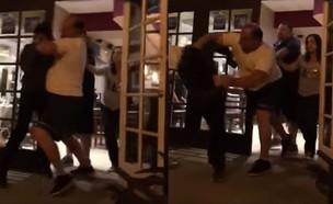שלושה הומואים נזרקים ממסעדה (צילום: יוטיוב )