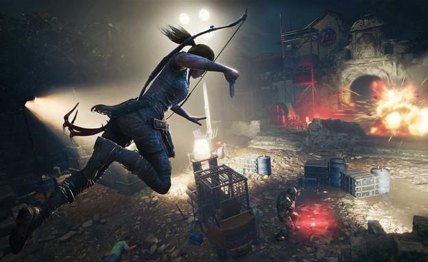 המשחק Shadow of the Tomb Raider (יח``צ: צילום מסך, Game In Mako)