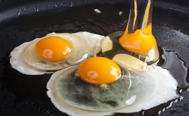 ביצים במחבת (צילום: kateafter | Shutterstock.com )