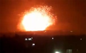 התקיפה בסוריה, אמש