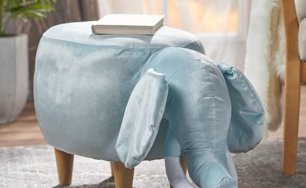 הדום פיל תכלת (צילום: overstock.com)