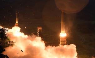 ניסוי טיל דרום קוריאה (צילום: Handout, gettyimages)