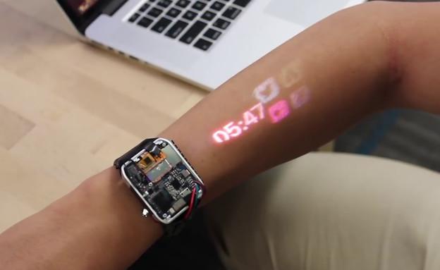 שעון שיקרין לכם על היד (צילום: קשת 12)