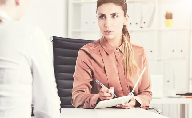 השאלה האחת שאסור לשאול בראיון עבודה (אילוסטרציה: kateafter | Shutterstock.com )