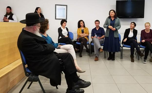 חלאסרטן במפגש עם שר הבריאות יעקב ליצמן (צילום: עמותת מרכז טל)