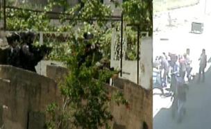 תיעוד הירי (צילום: חדשות 2)