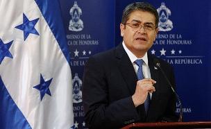 חואן הרננדס, נשיא הונדורס (צילום: רויטרס)