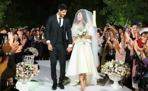 עידן עמדי מתחתן (צילום: ארנון בוסאני)