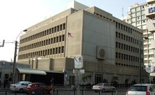 """שגרירות ארה""""ב בתל אביב (צילום: Krokodyl)"""