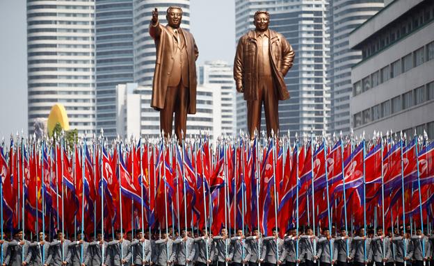 האזינו לדיווח מישראלי שנמצא בצ' קוריאה (צילום: רויטרס)