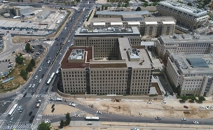 בניין הרפאים של עובדי המדינה | צפו בכתבה המלאה (צילום: Droneimagebank)