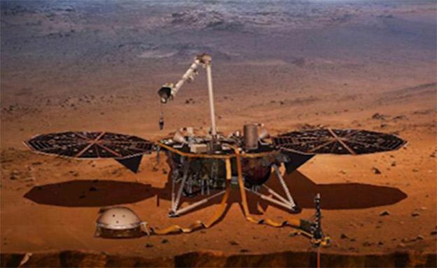 מקדח מיוחד יאפשר לחפור לתוך הכוכב (צילום: CNN)