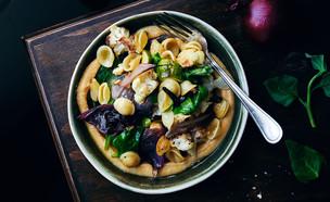 אורקייטה ירקות צלויים (צילום: אמיר מנחם, אוכל טוב)
