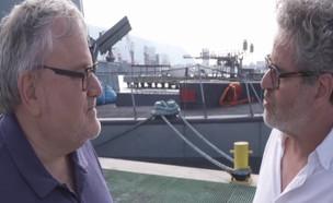 אייל שני חוזר לבשל בחיל הים (צילום: התכנית הכלכלית, חברת החדשות)
