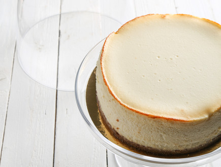 עוגת גבינה אפויה, בייקרי (צילום: עידית בן עוליאל, יחסי ציבור)