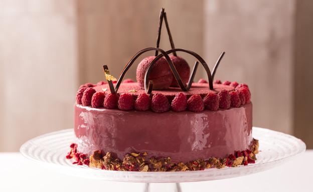 עוגת מוס דובדבן וקסיס (צילום: בני גם זו לטובה, אוכל טוב)