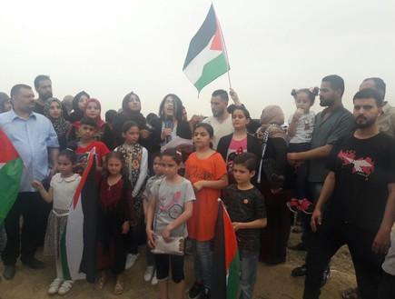 מפריחים יוני שלום מעזה לישראל - משתתפים