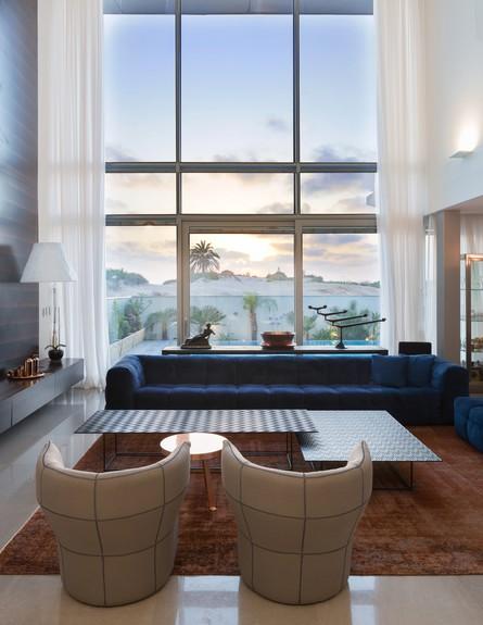 בית באשדוד, ג, זהבי ד.א. אדריכלים, סלון (30) (צילום: שי אפשטיין)