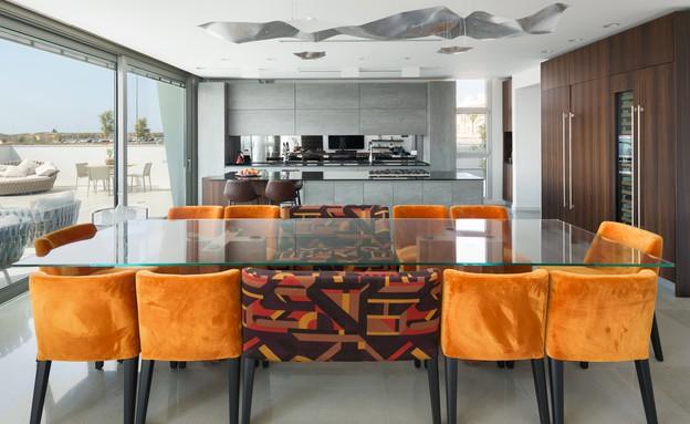 בית באשדוד, זהבי ד.א. אדריכלים, פינת אוכל (20) (צילום: שי אפשטיין)