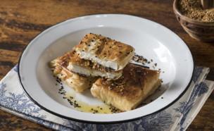 מעטפות פילו עם גבינה ודבש (צילום: אפיק גבאי, בבושקה הפקות ל-mako)