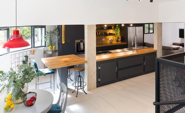 בית בשפלה, עיצוב דנה שבדרון, מטבח ופינת אוכל - 8 (צילום: שי אפשטיין)