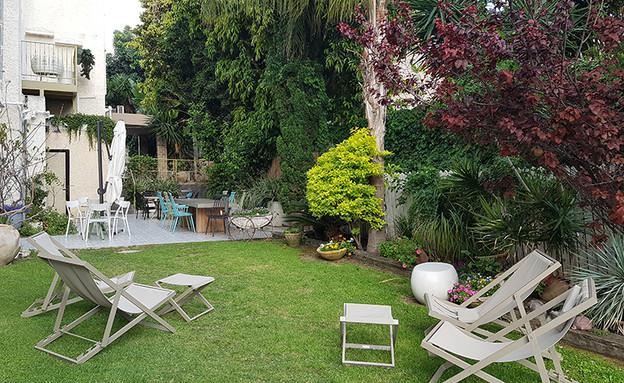 הגינה (צילום: דנה גוטרזון)
