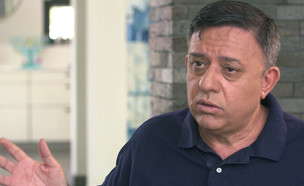 """אבי גבאי בראיון ל""""אנשים"""" (צילום: מתוך אנשים, שידורי קשת)"""