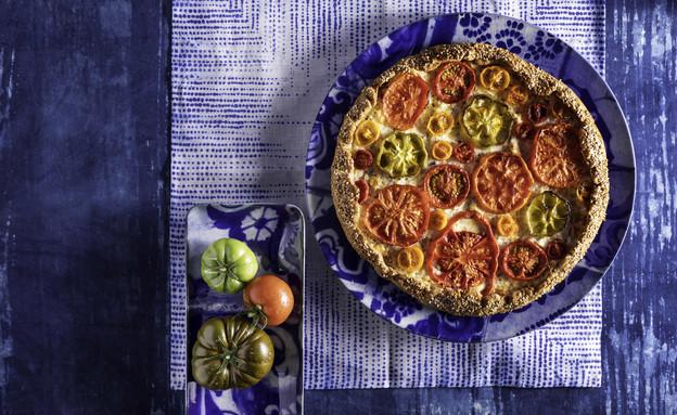 גאלט כוסמין עם גבינות ועגבניות (צילום: דניאל לילה , מחלבות גד)