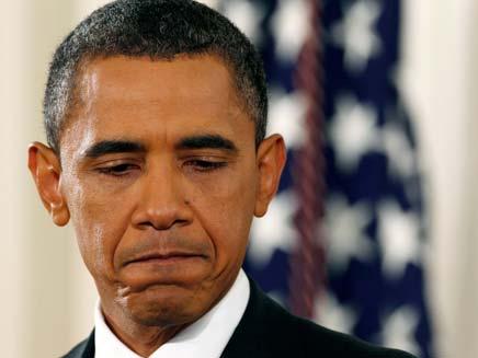 """אובמה """"זו טעות חמורה"""" (צילום: רויטרס)"""